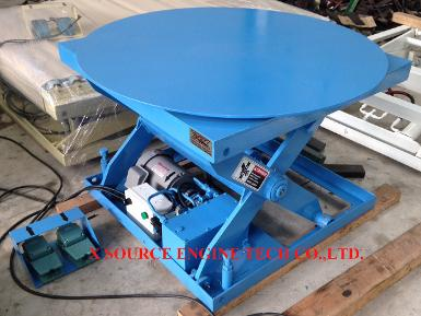 HYDRAULIC LIFT TURN TABLE MANUAL 360 XXL10/101408 SERIES